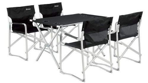 Camping set (1 table & 4 chairs)